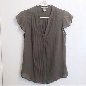 Semi-Sheer Gray Top